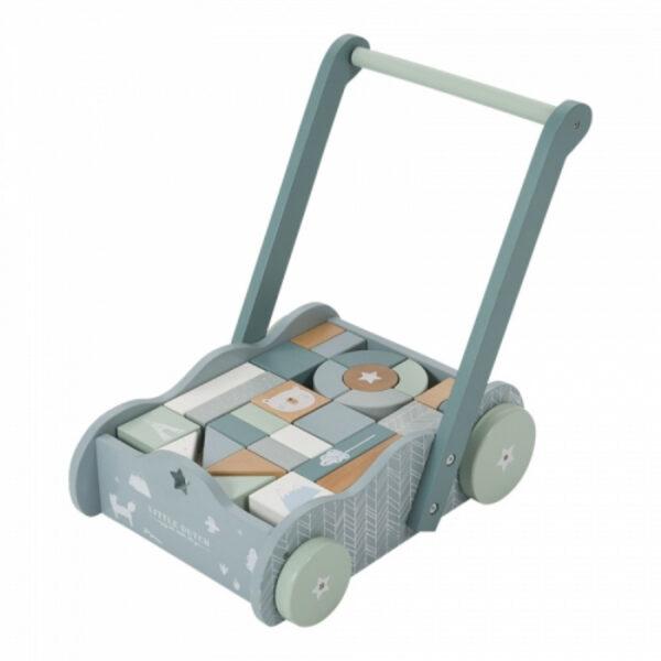 antemergator-premergator-din-lemn-cu-spatiu-de-depozitare-si-blocuri-din-lemn-albastru-little-dutch-01