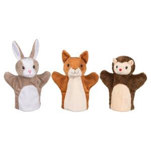 Set marionete pentru mana - Animalute - Goki