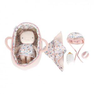 papusa rosa bebelus