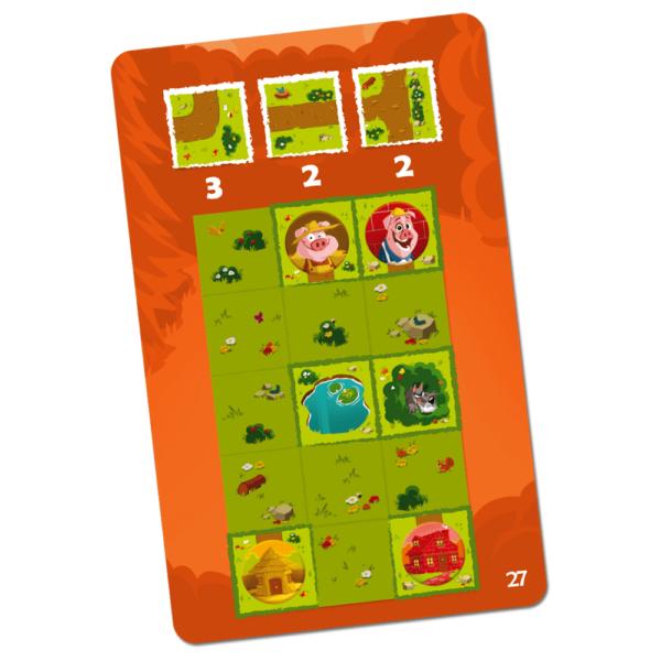 Joc de gandire Pig Puzzle - Blue Orange