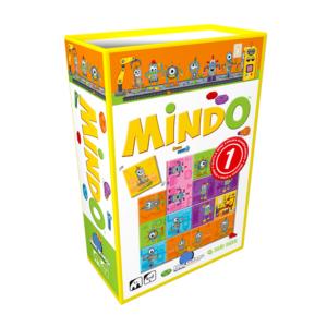 Joc de memorie Mindo Robots - Blue Orange