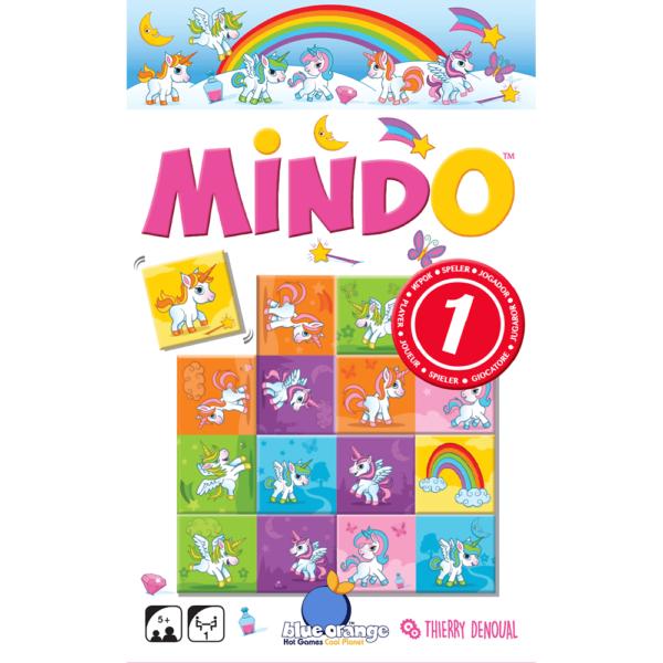 Joc de memorie Mindo Unicorn - Blue Orange