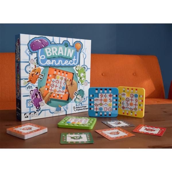 Joc de societate - Brain Connect - Ganditi repede, actionati repede - Blue Orange