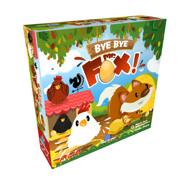 Joc de societate - Bye bye Mr. Fox - Blue Orange
