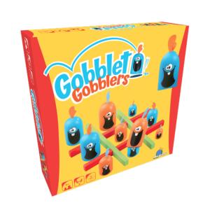 Joc de societate Gobblet Gobbler Lemn - Blue Orange