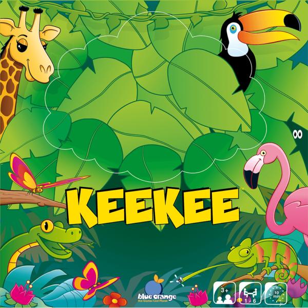 Joc de societate Keekee the monkey - Blue Orange