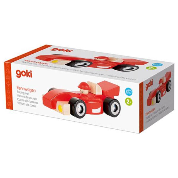 Masina de curse - rosie - Goki