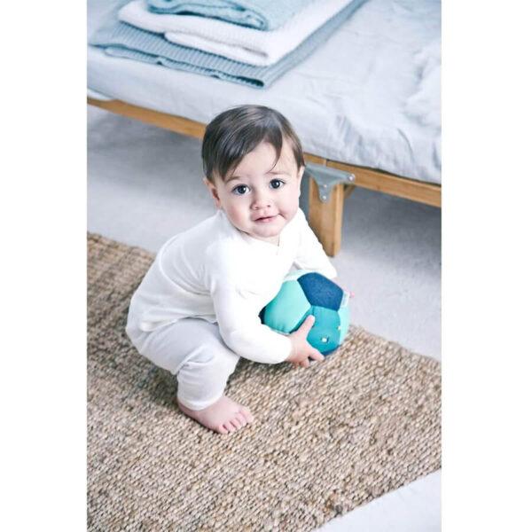 Minge soft cu activitati pentru bebelusi - Papagalul Pablo - 14 cm - Lilliputiens