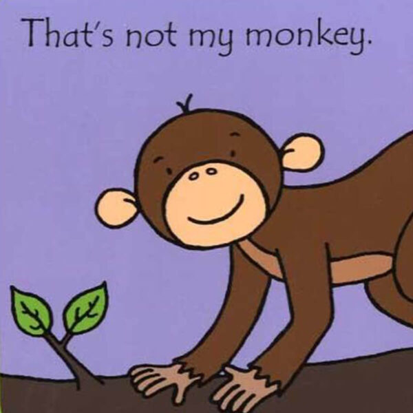 Carte cu pagini cartonate - That's not my monkey… - Usborne