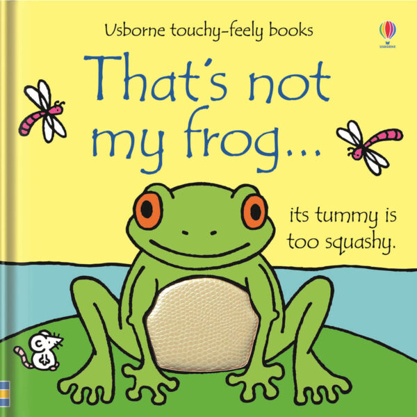 Carte cu pagini cartonate - That's not my frog… - Usborne