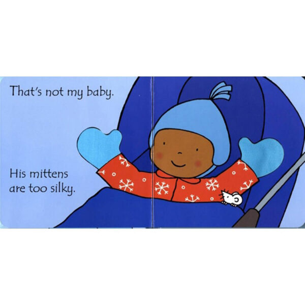 Carte cu pagini cartonate - That's not my baby (boy)… - Usborne