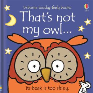 Carte cu pagini cartonate - That's not my owl… - Usborne