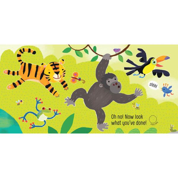 Carte pentru copii - Don't Tickle the Tiger! - Usborne