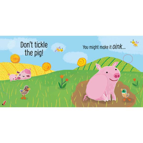 Carte pentru copii - Don't Tickle the Pig! - Usborne