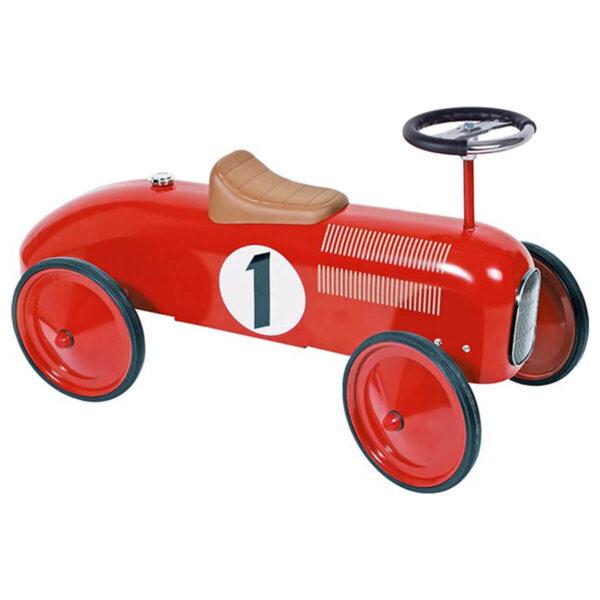 Masinuta de curse rosie - Ride-on- 76 x 39 x 40 cm - Goki