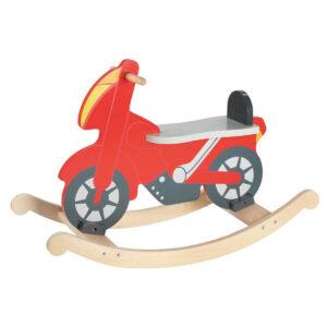 Jucarie din lemn - Motocicleta balansoar - Goki