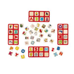 Joc de gandire - Puzzle - Alfabetul meu ABC - Goki