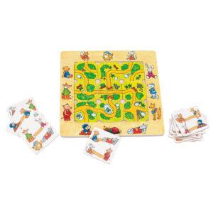 Joc de gandire - Puzzle - Gaseste traseul - Goki