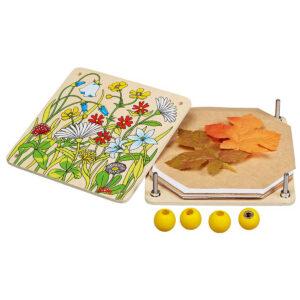 Jucarie copii - Presa pentru flori si frunze - Goki