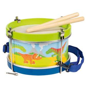 Instrument muzical - Toba din lemn cu dinozauri - Goki