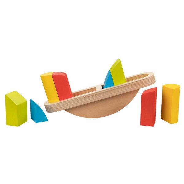 Joc de echilibru din lemn - Goki