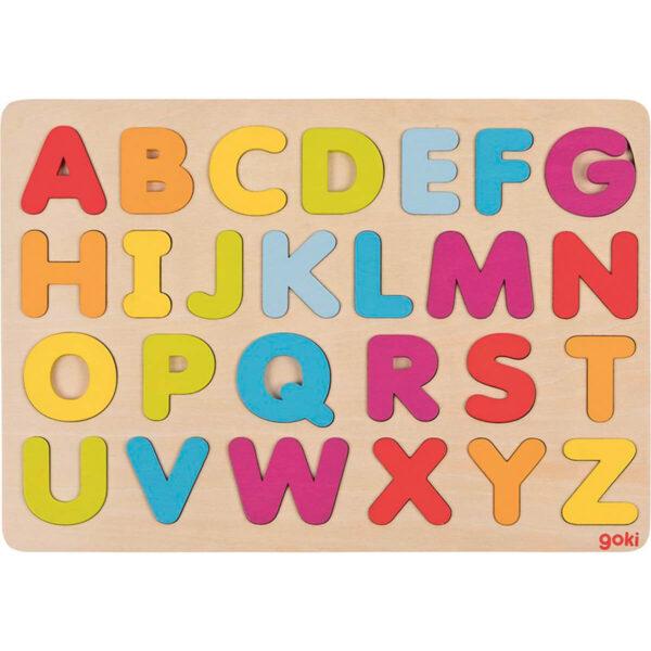 Joc de gandire - Puzzle - Alfabet - Goki