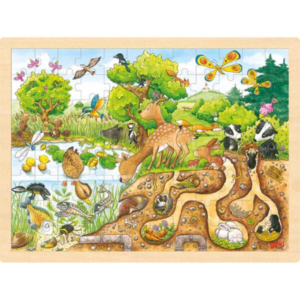 Joc de gandire - Puzzle - Explorarea naturii - Goki