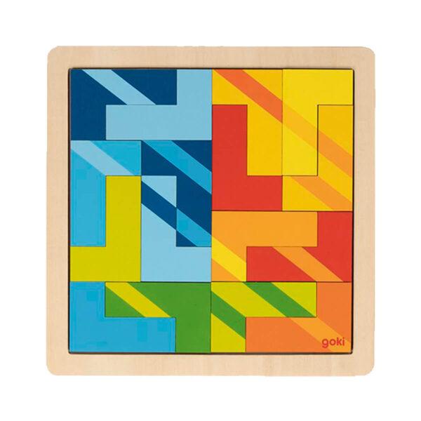 Joc de gandire - Puzzle L - Forma 3 - Goki