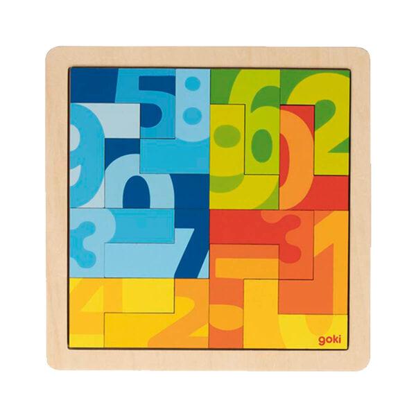 Joc de gandire - Puzzle L - Forma 4 - Goki