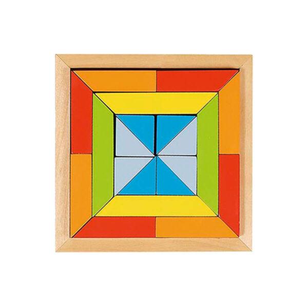 Joc de gandire - Puzzle - World of shapes - Forma 2 - Goki