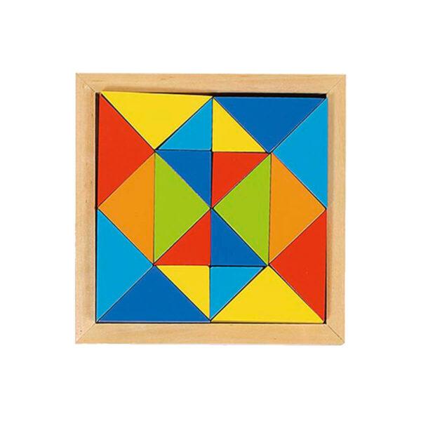 Joc de gandire - Puzzle - World of shapes - Forma 4 - Goki