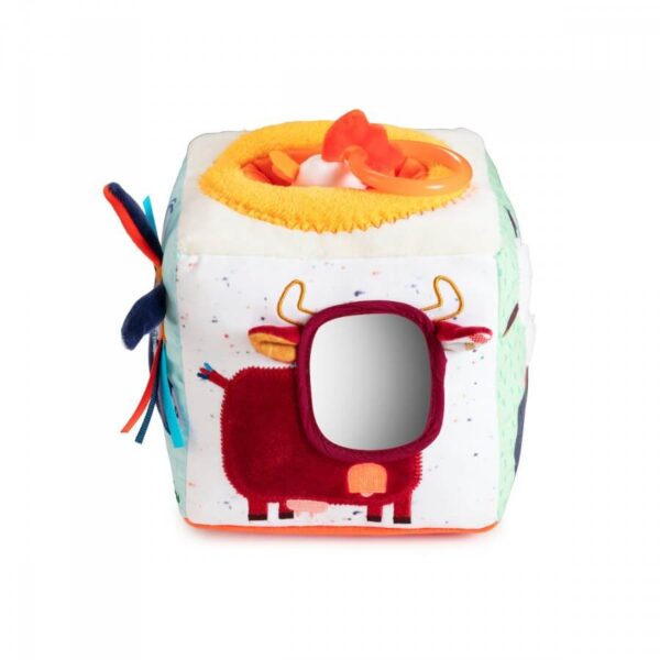 Cub soft cu activitati pentru bebelusi - Ferma cu sunete - Lilliputiens