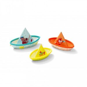 Joc de baie - 3 barcute colorate - Lilliputiens