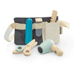 Jucarie din lemn - Set de coafura - Plan Toys