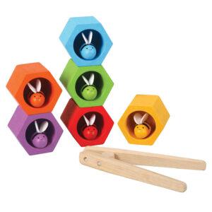 Jucarie din lemn - Beehives - Plan Toys