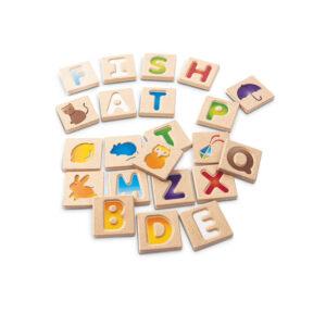 Jucarie din lemn - Alfabetul A-Z - Plan Toys