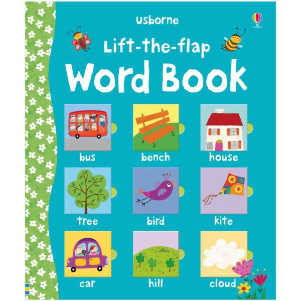 Carte pentru copii - Lift-the-Flap Word Book - Usborne