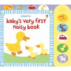 carte muzicala copii noisy book