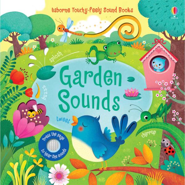 Carte muzicala pentru copii - Garden Sounds - Usborne