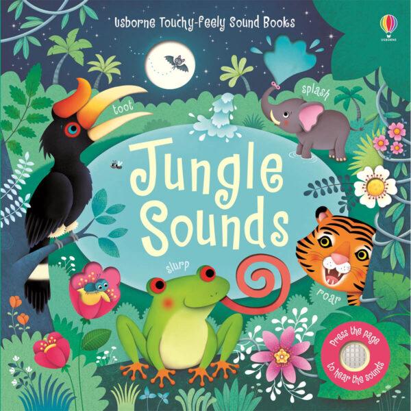 Carte muzicala pentru copii - Jungle Sounds - Usborne