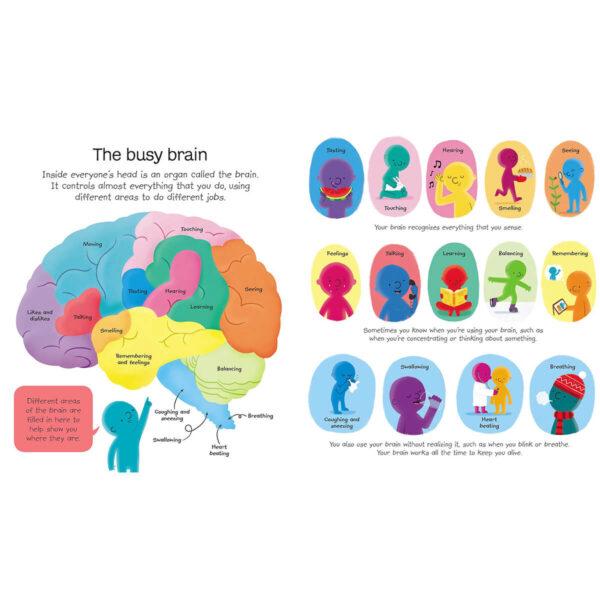 Carte pentru copii - My First Body Book - Usborne