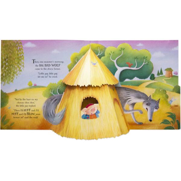 Carte pentru copii - Pop-up Three Little Pigs - Usborne