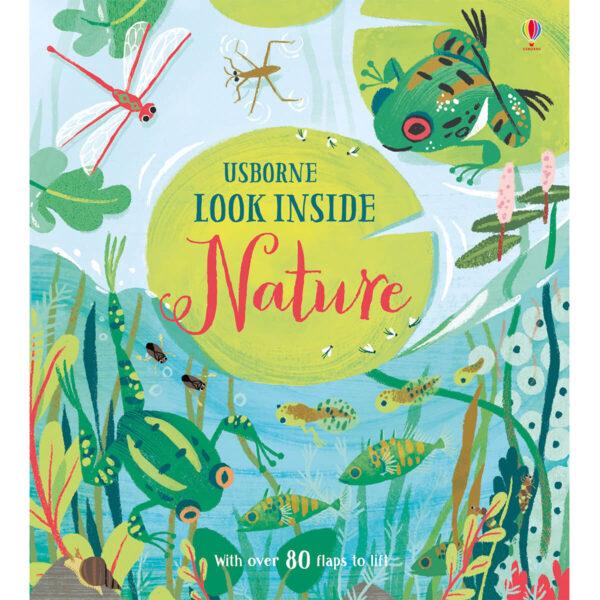 Carte pentru copii - Look Inside Nature - Usborne