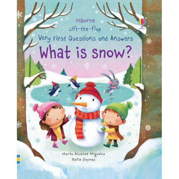 Carte pentru copii - Lift-the-flap Very First Questions and Answers What is Snow - Usborne