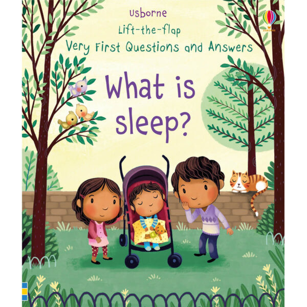 Carte pentru copii - Lift-the-flap Very First Questions and Answers What is Sleep - Usborne