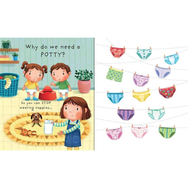 Carte pentru copii - Lift-the-flap Very First Questions and Answers Why do we need a Potty - Usborne