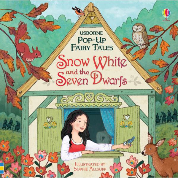 Carte pentru copii - Pop-Up Snow White and the Seven Dwarfs - Usborne