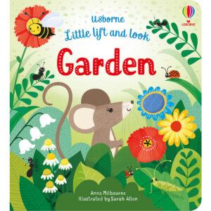 Carte pentru copii - Little Lift and Look Garden - Usborne