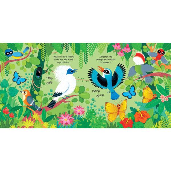 Carte muzicala pentru copii - Zoo Sounds - Usborne