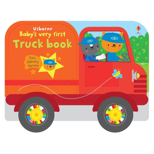 Carte pentru copii - Baby's Very First Truck Book - Usborne